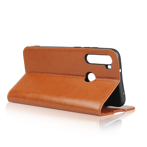 Image 4 - 360 натуральная кожа кожаный чехол противоударный Флип Бумажник Книга телефон чехол книжка для на ксиоми редми нот 8 про нот8 8про нот8про Xiaomi Redmi Note 8 Pro Note8 4/6/8 64/128 ГБ Xiomi бампер