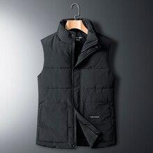 Vest Sleeveless Waistcoat Parkas Down-Jacket Clothin Winter Fashion Mens Brand New Thick