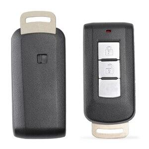 Image 2 - KEYECU llave remota inteligente Go 8637B107 sin llave, 2B, 433MHz, HITAG3, NCF2952X, ID47, para Mitsubishi Montero, L200, 2004 2008, FCCID: GHR M004