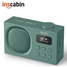 Inscabin P2 Stereo DAB Radio Portable Wireless Speaker with Bluetooth DAB+, FM