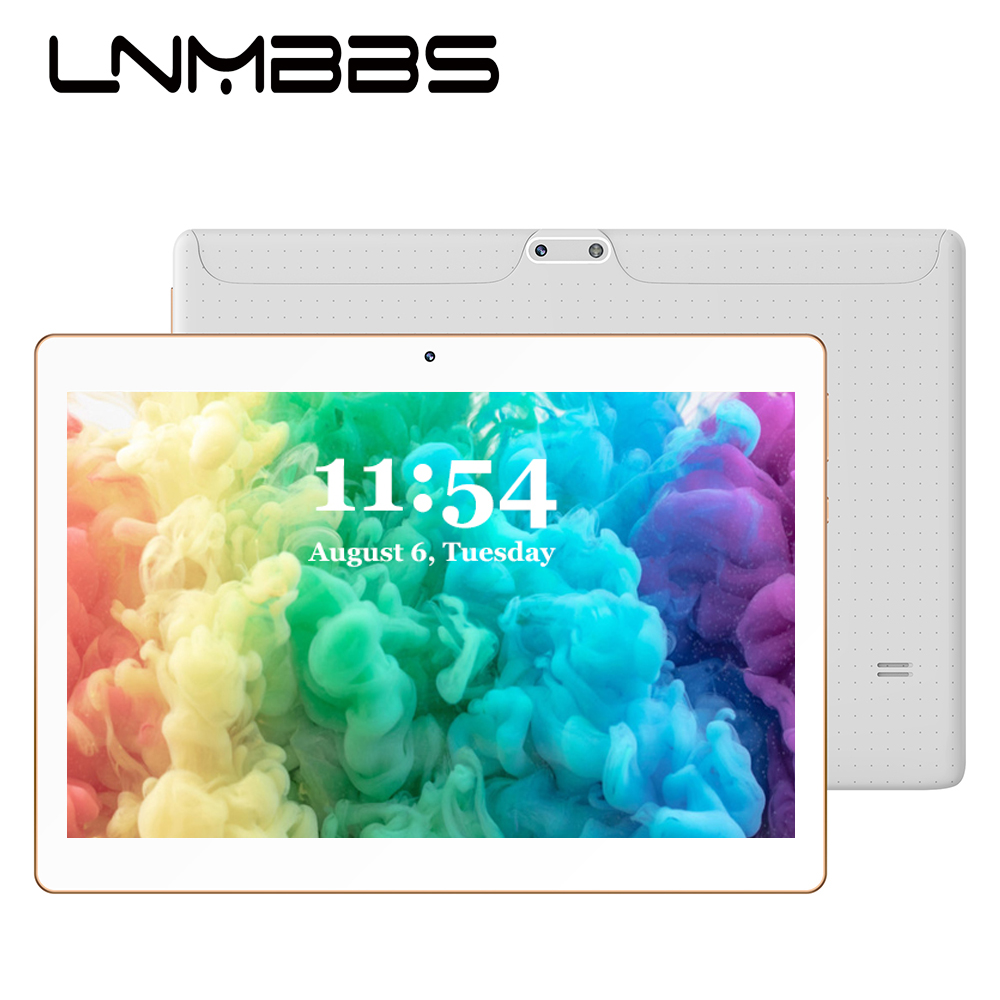 LNMBBS K107 tablet 10.1 inch 3G Phone Call tablets Android 7.0 Octa Core 4G RAM 64G ROM Phablet WiFi Bluetooth GPS IPS Tablet PC image