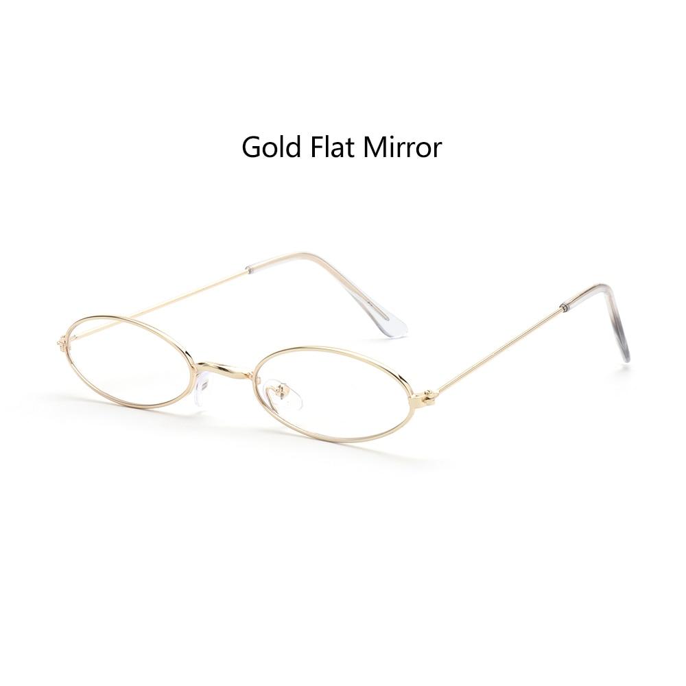Fashion Vintage Shades Sun Glasses Elegant okulary Retro Small Oval Sunglasses for Men Women Eyeglasses gafas oculos 16