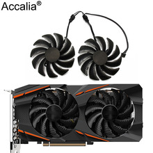 Cooling-Fan Graphics-Card PLD09210S12HH 1050 1060 Gigabyte Gtx 1070 T129215SU 4pin 88MM
