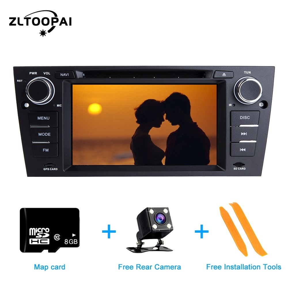 ZLTOOPAI Car Multimedia Player For BMW <font><b>E90</b></font> E91 E92 E93 3 Series <font><b>GPS</b></font> Navigation Radio Stereo Audio Head Unit DVR USB Bluetooth image