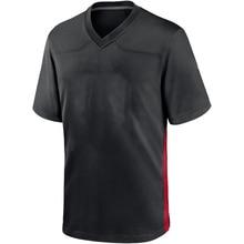 Customized Stitch Mens Jersey American Football Atlanta Fans Jerseys HOOPER GURLEYII Jersey