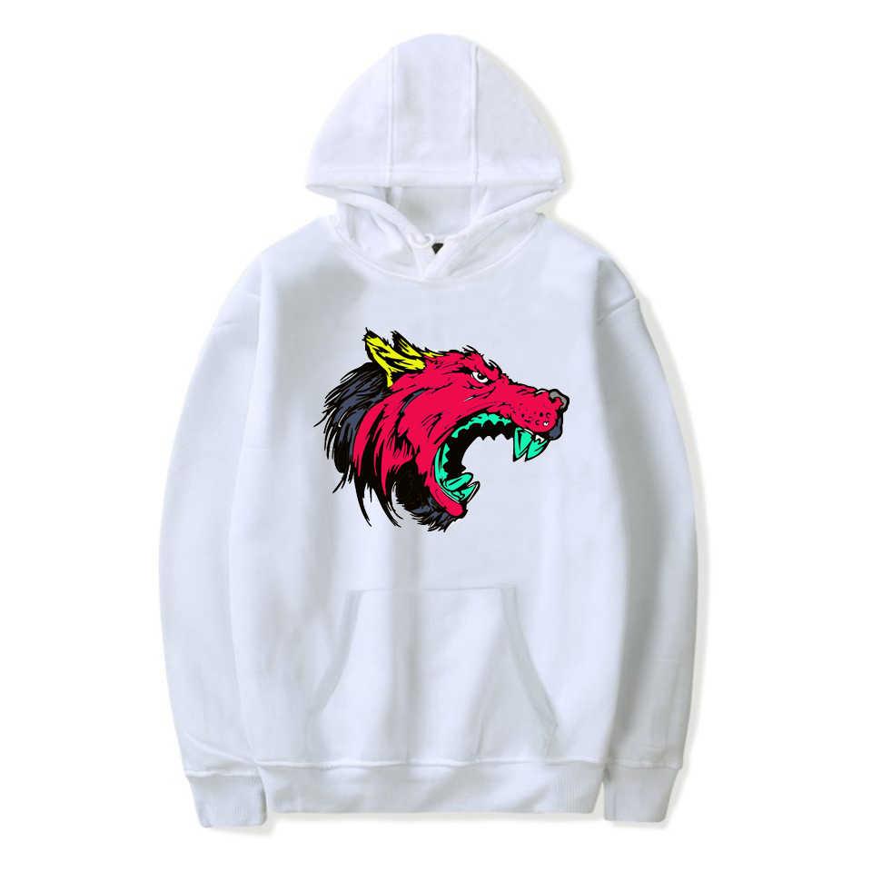 Fashion Pria Serigala Hewan 3D Dicetak Hoodies Sweatshirt Pria/Wanita Liar Serigala Desain Kaus Besar Harajuku Hoodie