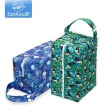 EezKoala Wet Bag High-Capacity Baby Pods Bag Nappy Bag Waterproof Reusable Washable Cloth Diaper Bag