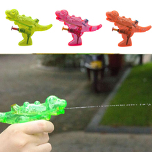 2pcs Mini Dinosaur Water Gun Outdoor Beach Water Gun Portable Blaster Gun Kids Beach Toys For Children Summer Beach Games