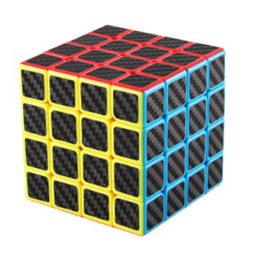 Demon Carbon Fiber Magic Cube Second-order Three/four/five Order Magic Cube Set Educational Children's Toys
