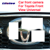 Car Special Front HD high quality Camera For Toyota Front View Universal Car front camera Waterproof Night Vision CCD promo