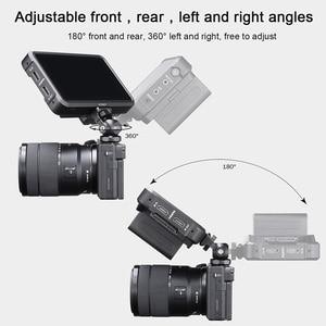 Image 5 - UURig R015 Cold Shoe Monitor Bracket Aluminum 360 Degree Adjustable Mount Bracket for Monitor DSLR Cameras