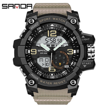 SANDA Sport Watch Men 2020 Clock Male Digital Quartz Wrist Watches Men's Top Brand Luxury Digital-watch Relogio Masculino Saat
