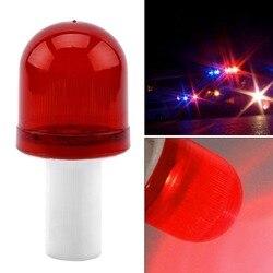 Super jasne led niebezpieczeństwo drogowe pomiń światło migające rusztowanie pachołek drogowy stroboskop bezpieczeństwa awaryjne światło drogowe lampka ostrzegawcza w Sygnalizacja świetlna od Bezpieczeństwo i ochrona na