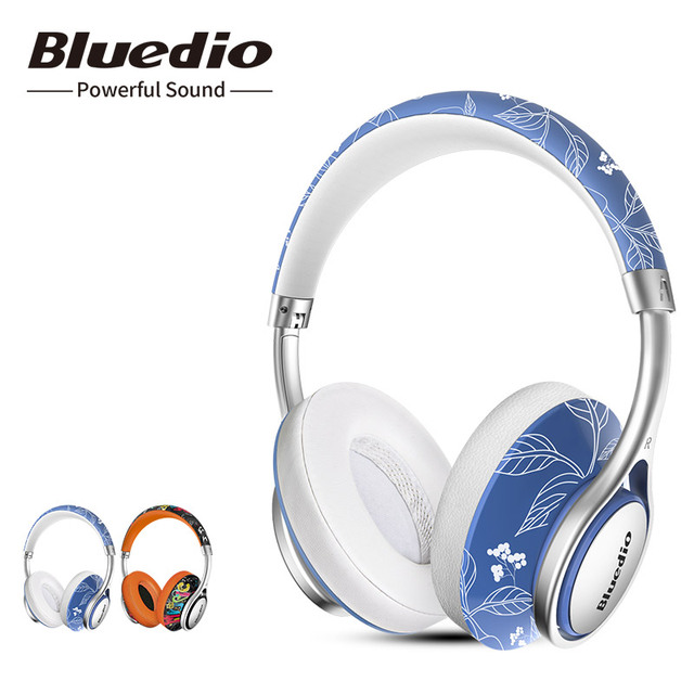 Bluedio Air series A/A2 Bluetooth Headphones/Headset Fashionable Wireless Headphones for phones and music