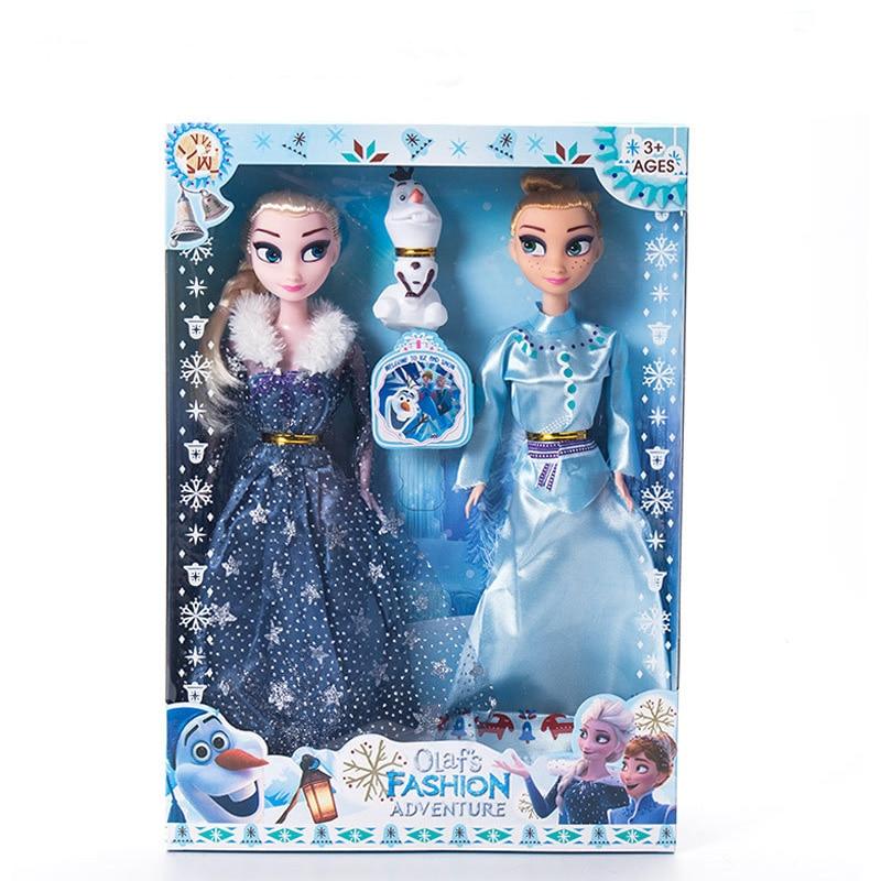 2019 Original Princess elsa doll Anna Children Girls Toys Birthday Christmas Gifts For Kids Sharon Dolls