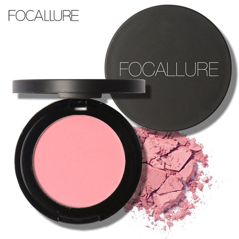 Focallure Bronzer Blush Powder Waterproof Long Lasting Cheek Blush Powder Charming Makeup Face Blush Palette FA25B