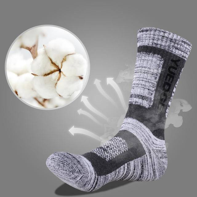 YUEDGE Brand 3 Pairs Cotton Socks 6