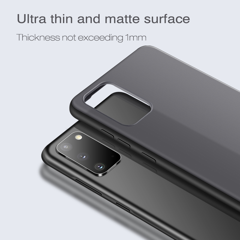 X-Level Transparent Case For Samsung S20 Ultra Plus Hard PC Soft Silicone Edge Back Phone Cover For Samsung Galaxy S20 Case