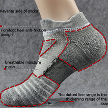 Running-Socks Basketball Anti-Slip Sports Women Wicking Cycling 1-Pair Moisture Thicken