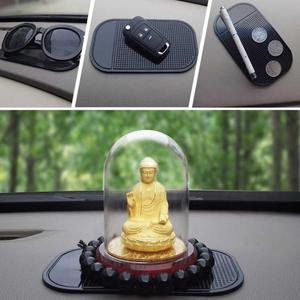 Image 5 - 1PC 13.8x7.8cm Car Dashboard Sticky Pad Silica Gel Strong Suction Pad Holder Anti Slip Mat For Mobile Phone Car Accessories Hot