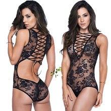 2019 Exotic Apparel Stripper Clothes Sexy Costumes Open Bra Lenceria Sex Love Erotic Rompers Women