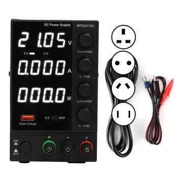 DPS3010U Adjustable Power Supply USB Fast Charging 30V 10A 4-Digit Maintenance Power Supply wanptek dps3010u 305u 605u switching dc power supply adjustable 4 digit lab bench power source 30v 10a 30v 5a 0 01v 0 001a ac