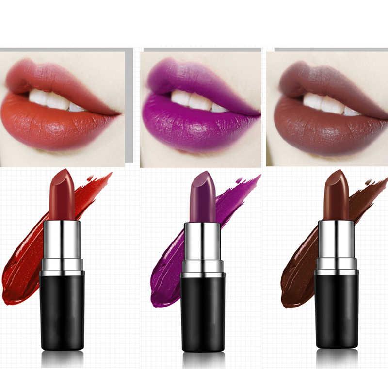 Quality Matte Lipstick professional Lips Makeup Long-lasting Waterproof Lipstick Red Nude Chili Diva Lipstick