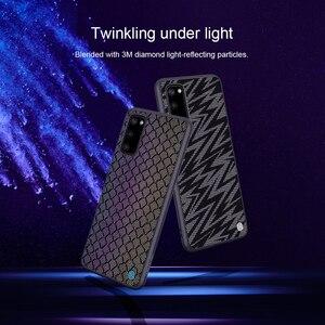 Image 2 - Per Samsung Galaxy Caso di S20 NILLKIN Scintillio Riflettente Cassa Dura del PC Della Copertura Posteriore per Samsung Galaxy S20 Ultra / S20 più il Caso di