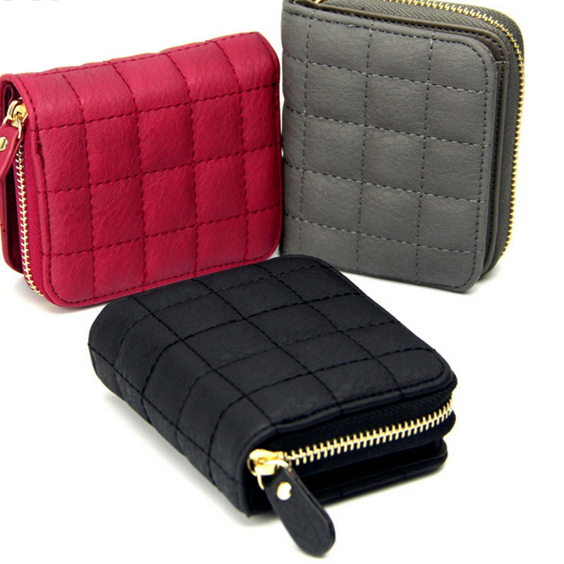 Women's Wallet Zipper&Hasp cute wallet Student Small PU Wallet Coin Purse Fashion Women Card Bag For Women 2020 cartera mujer