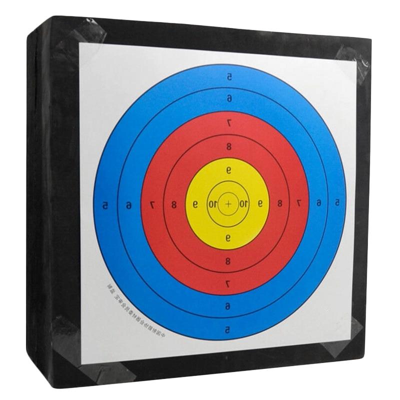 Nova venda eva tiro com arco alvo portátil 3d achery alvo