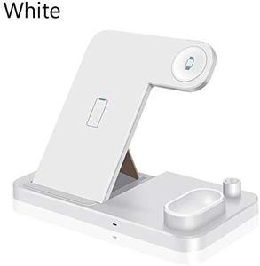Image 3 - 4 in 1 Stand Fast Wireless Charger for Apple Pen Watch Series for iPhone X Xs Max Xr 8 Plus Airpods Charging Dock Station, Black