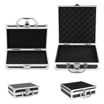 High Quality Tool Box Aluminium Alloy Toolbox Storage Case Portable Travel Luggage Organizer Safety - discount item  25% OFF Home Storage & Organization