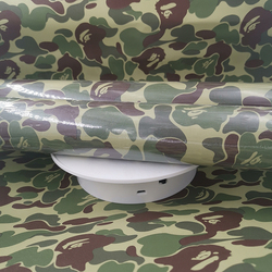 New Customized tide brand wallpaper bape Japanese ease ape head college student dormitory clothing store decoration wallpaper