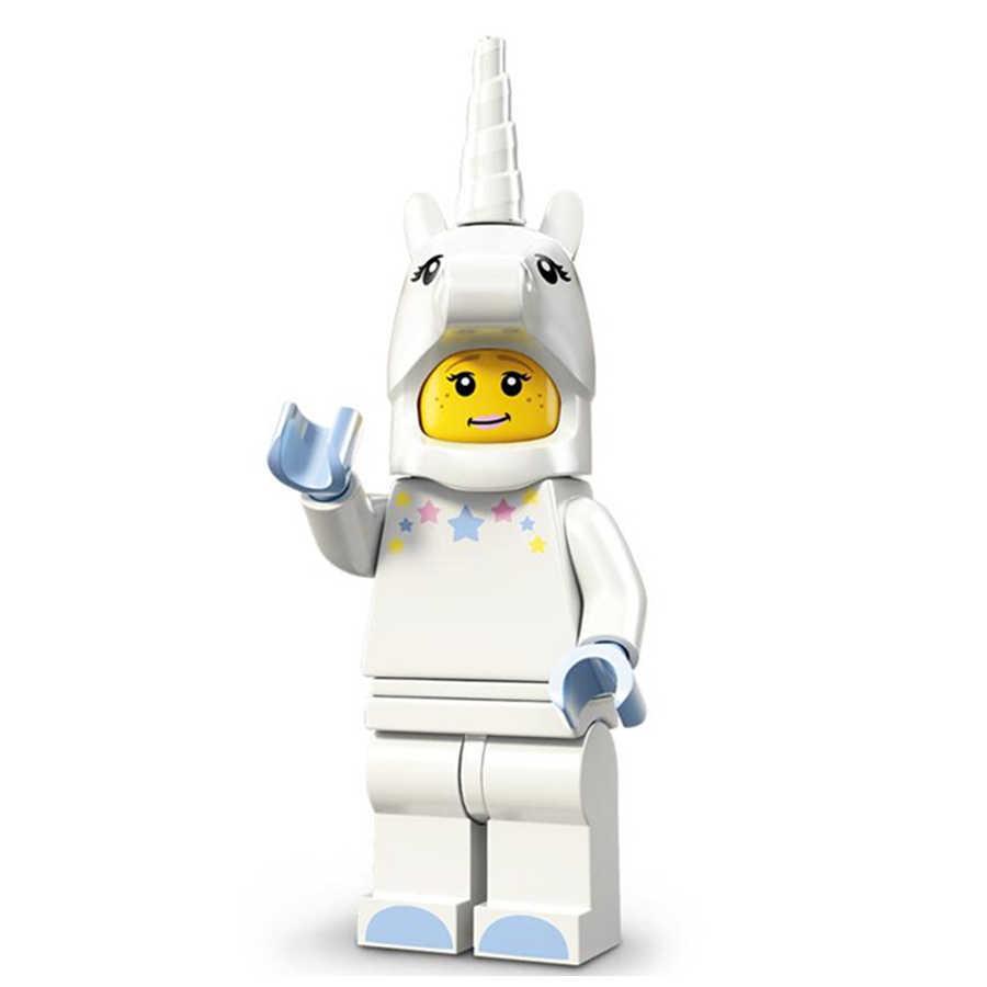 Jedna seria sprzedaży jednorożec dziewczyna superbohaterowie mini figurki montaż klocki minifig Kid prezenty zabawki