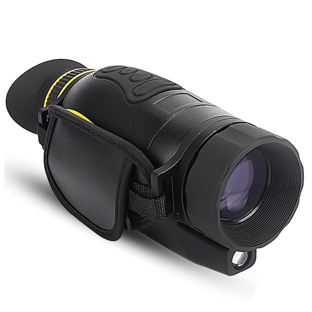 Outdoor Infrared 4X Night Vision Monocular Handheld Optical Telescope Multifunction Tools &T8