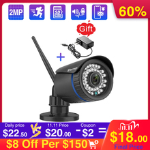 Techage 1080P Wifi מצלמה 2 דרך אודיו TF כרטיס שיא חיצוני IP אלחוטי מצלמה אבטחת CCTV IR ראיית לילה וידאו מעקב
