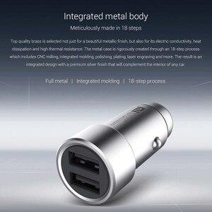 Image 3 - Ładowarka samochodowa Xiaomi QC 3.0 Dual USB szybkie ładowanie 5V/3A 9V/2A Mi ładowarka samochodowa dla androida iOS dla iPhone telefon komórkowy