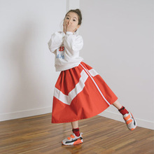2020 Princess Cute Summer Fashion Skirt New Cotton Striped Children Vestidos Kid