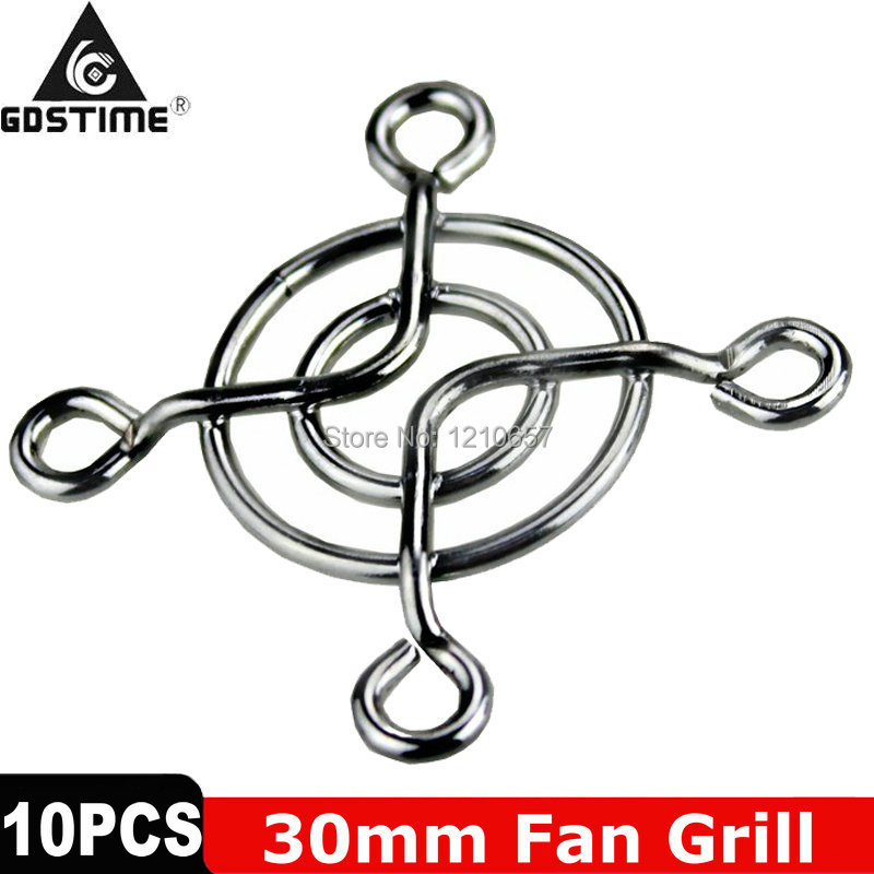 10Pieces LOT New Metal Steel 30mm 3cm Fan Protector Finger Guard Grill Net