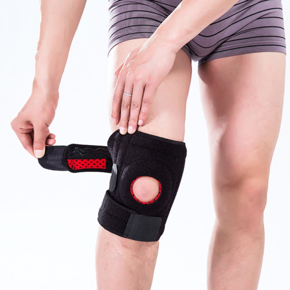 Breathable Non-Slip Knee Protector Spring Knee Pads For Tourists Warm Sports Anti-Collision Leg Protector