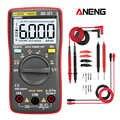 ANENG AN8002 Digital Multimeter 6000 Counts Multimetro Multitester Digital Profesional Transistor Capacitor Tester lcr esr meter