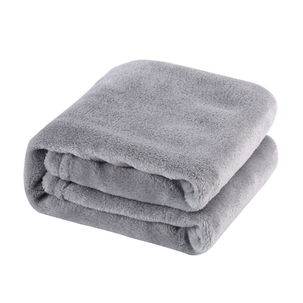Soft and warm coral velvet blanket winter sheets bedspread sofa plaid fabric light mechanical washing flannel blanket