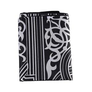 Image 4 - Bohemian Islamic Muslim Prayer Rug Carpet Mat Polyester Namaz Salat Tassel Tablecloth Cover Yoga Mat Blanket Decoration 60x100cm