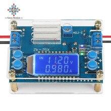 цена на CC CV DC 6.5-36V to 1.2-32V 5A 75W Step Down Buck Converter Power Supply Module Voltage Regulator Transformer with Case Heatsink