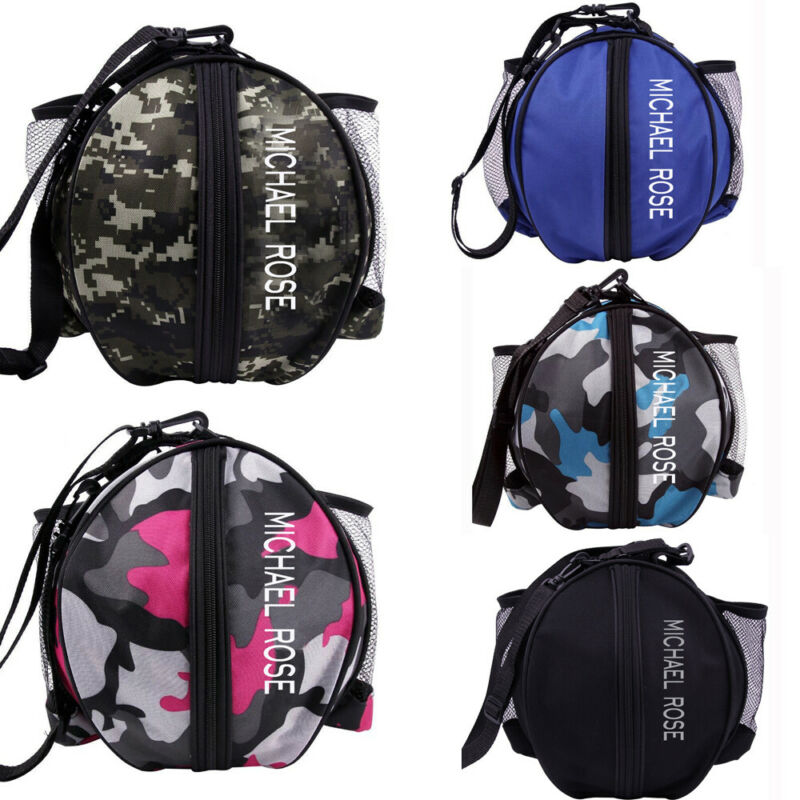 2020 HOT Sports Ball Round Bag Basketball Shoulder Bag Soccer Ball Football Volleyball Carrying Bag Travel Bag For Men And Women