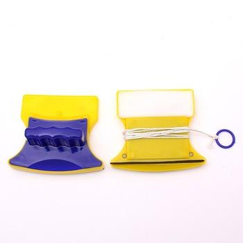Magnetyczna szczotka do mycia okien domowe dwustronne urządzenia do oczyszczania okien magnetyczne urządzenie do czyszczenia okien Dropshipping tanie i dobre opinie duolvqi cleaning tool 11 5 *3*7cm piece 0 205kg (0 45lb ) 12cm x 7cm x 7cm (4 72in x 2 76in x 2 76in)