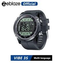Zeblaze VIBE 3S reloj inteligente para exterior, resistente al agua, resistente al agua, pasos meteorológicos en tiempo Real, caloría distancia, seguimiento 5 ATM/50M/164ft