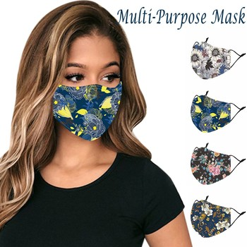 1 PC Unisex Washable Reusable Dustproof Breathable Multi-Purpose Mask Face Cover Mascarillas Earloop Reusable Mask Respirator