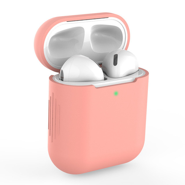 Candy Colors Soft Silicone Case For Apple Air Pods 2 Cases For AirPods 2 Silm Shockproof Earphone Protective Cover Accessory