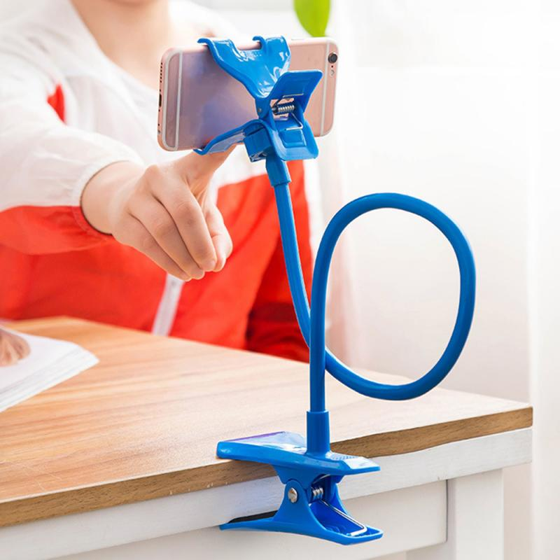 Flexible Mobile Phone Holder Lazy Mobile Phone Universal Stand Clip Bracket Holder Lazy Bed Desktop Support For Cellphone
